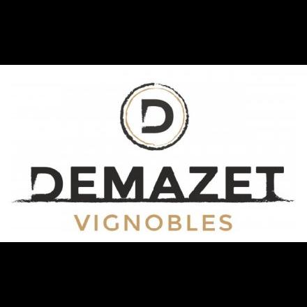 De Wijnunie Vlaanderen onze domeinen logo van Demazet vignobles