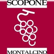 De Wijnunie Vlaanderen onze domeinen logo van Scopone Montalcino
