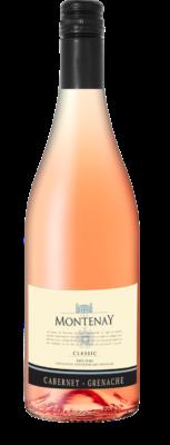 """Les Montenay, Pays D'Oc IGP """"Classic"""" Cabernet-Grenache Rosé 2020"""