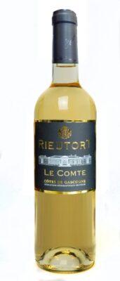 """Chateau Rieutort, Côtes De Gascogne IGP """"Le Comte"""" Gros Manseng Moelleux 2018"""