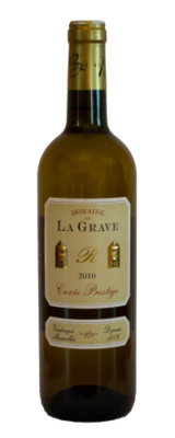 Domaine De La Grave, Bordeaux AOC Cuvée Prestige Blanc 2018
