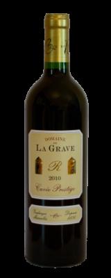 Domaine De La Grave, Bordeaux Supérieur AOC Cuvée Prestige Rouge 2016