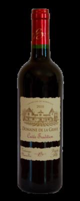 Domaine De La Grave, Bordeaux Supérieur AOC Cuvée Tradition Rouge 2016