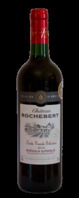 Château Rochebert, Bordeaux Supérieur AOC Cuvée Grande Sélection Rouge 2016
